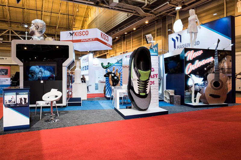 Η Massivit 3D Printing Technologies στην έκθεση SGIA Expo